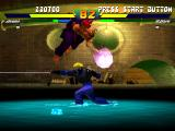 Street Fighter EX Plus Alpha PlayStation A simultaneous move encounter involving both Akuma's Zankuu Hadouken and Doctrine Dark's DARK Wire.