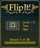 FlipIt! BREW Level Select Menu