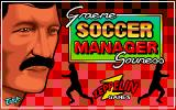 Graeme Souness Soccer Manager Amiga Title screen