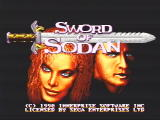 Sword of Sodan Genesis Title screen