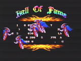 Sword of Sodan Genesis Demonstrating that it takes up to 10 minutes to see the high scores