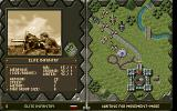The Great War: 1914 - 1918 DOS Elite infantry information screen