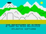 Sinbad ZX Spectrum Game-specific loading screen