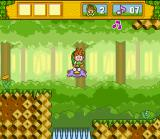 Do Re Mi Fantasy: Milon no DokiDoki Daibōken SNES Jump on enemies to flatten them and use them as a platform.