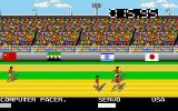 Mega Sports Amiga Running a race (Summer Games)