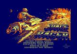 Space Racer Amstrad CPC Loading screen