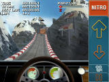 Stuntcar Extreme Advanced Windows Mobile In-car view on Rollercoaster track