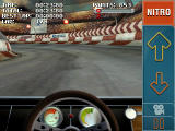 Stuntcar Extreme Advanced Windows Mobile In-car view on Ring of Fire track