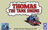Thomas the Tank Engine & Friends DOS Title Screen