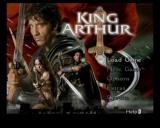 King Arthur GameCube Main Title/Main Menu