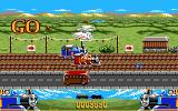 Thomas the Tank Engine & Friends DOS Bonus Stage - Keep pressing enter to beat Thomas' friends in the race