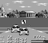 V-Rally: Championship Edition Game Boy Passing an opponent