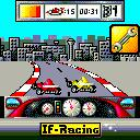 IF Racing ExEn Your car is almost destroyed, speed up and enter the pitstop to repair it. (Alcatel OT535 version)
