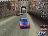 London Racer Windows approaching a castle