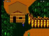 Mercs SEGA Master System Cornered near a hut