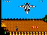 Mercs SEGA Master System ...the first boss: a Harrier jumpjet!