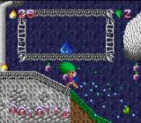 Super Troll Islands SNES 2nd level - Spreading colour wherever you go!