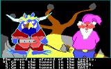 Troll's Tale PC Booter A guard and the troll are here! (PCjr)