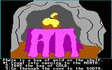 Troll's Tale PC Booter Found a bag of gold! (PCjr)