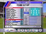 Actua Soccer 3 Windows Selecting the starting 11