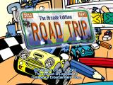 Road Trip: The Arcade Edition GameCube Title Screen