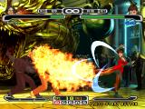 Capcom vs. SNK Pro PlayStation A simultaneous clashing attack involving both Kyo's Super Combo Orochinagi and Vice's Outrage move.