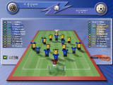 Soccer Manager Windows Match-up screen