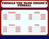 Thomas the Tank Engine and Friends Pinball Amiga High Scores