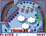 Thomas the Tank Engine and Friends Pinball Amiga Thomas - upper part