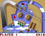 Thomas the Tank Engine and Friends Pinball Amiga Toby - upper part