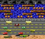 Frogger SNES The first level.