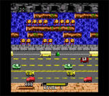 Frogger SNES Avoid the cars!
