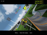 TrackMania Nations ESWC Windows Stunts in the replay mode