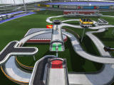 TrackMania Nations ESWC Windows Overview of the track and the environment