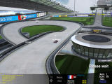 TrackMania Nations ESWC Windows Overview of a race in progress