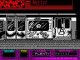 Fallen Angel ZX Spectrum Game start