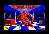 Metro Cross Amstrad CPC Loading screen