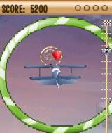 Stunt Plane Symbian Late in level 2, after just flying through a shape and preparing to pop a balloon.