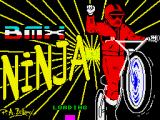 BMX Ninja ZX Spectrum Loading screen