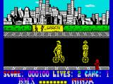 BMX Ninja ZX Spectrum Both trying to launch a spinning attack