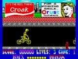 BMX Ninja ZX Spectrum Different background