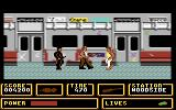 Fallen Angel Commodore 64 Fighting on the subway train