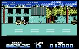 Super Tank Simulator Commodore 64 Targeting an enemy jeep