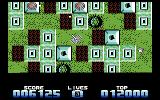 Super Tank Simulator Commodore 64 Wandering about a deadly maze
