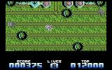 Super Tank Simulator Commodore 64 Lots of enemies attacking with no where to hide!