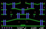 Jumpman PC Booter The first level (PCjr)