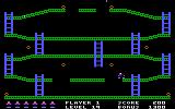 Jumpman PC Booter This level looks simple; what could be the hidden challenge? (PCjr)