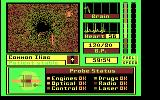 Laser Surgeon: The Microscopic Mission DOS The main game screen (CGA)