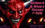 Escape from Hell DOS Title screen.
