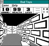 Bad Toys Windows 3.x The smallest resolution, in which the game starts by default. Maximum is 800x528.